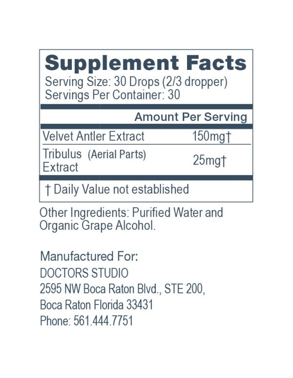 R3 supplement facts