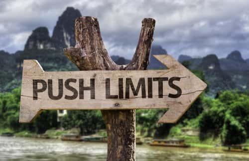 Push Limits Arrow