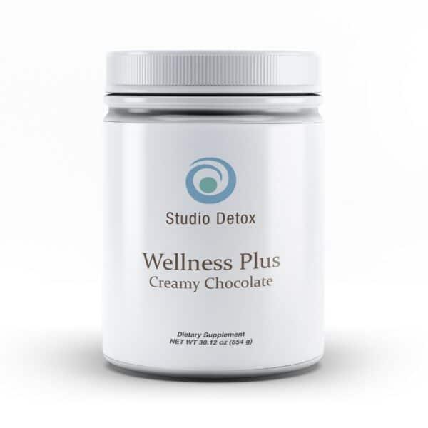 Studio Detox Wellness Chocolate - Front