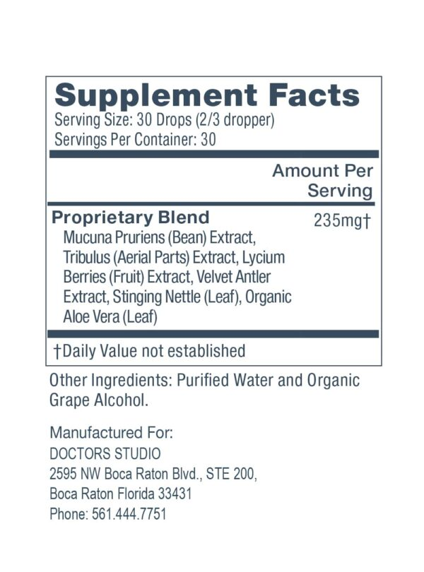Supplements Facts List