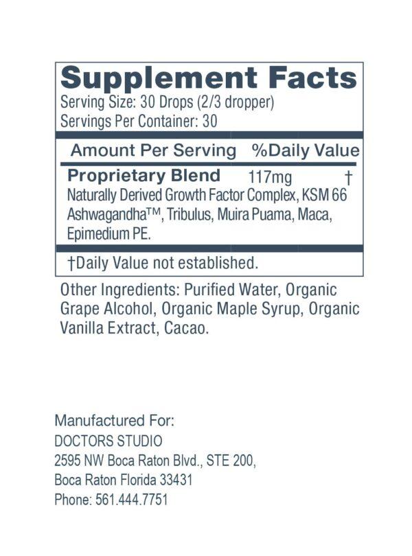 Supplements Facts ENJOY